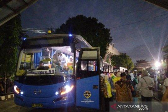 Jamaah haji Sultra gelombang I tiba di Makassar
