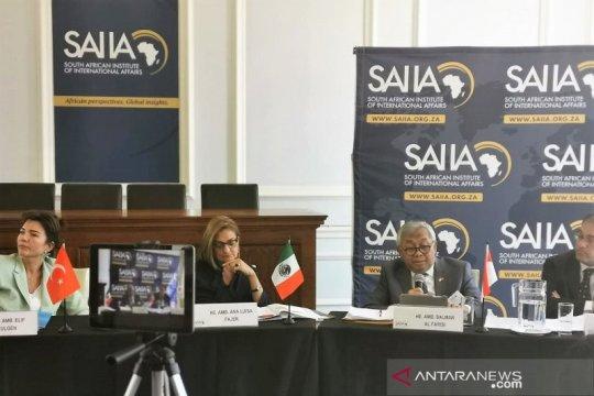 Para dubes kenalkan MIKTA ke mahasiswa Afrika Selatan