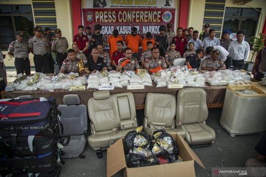 Kasus sabu 118 kg di Bintan