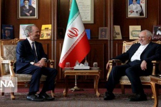 Teheran dukung penyelesaian politik buat krisis di Suriah