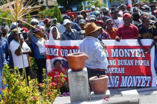 Papua Terkini - DPRD Biak terima pernyataan sikap terkait rasisme