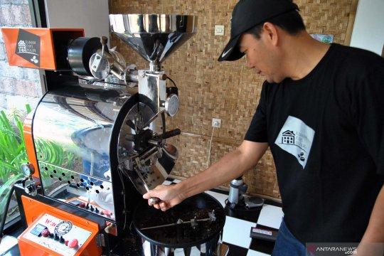 Produksi kopi lokal Bogor
