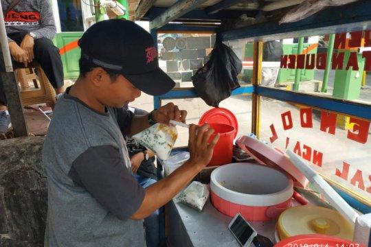 Es dawet ketan durian tersedia sepanjang tahun di Pasar Pramuka