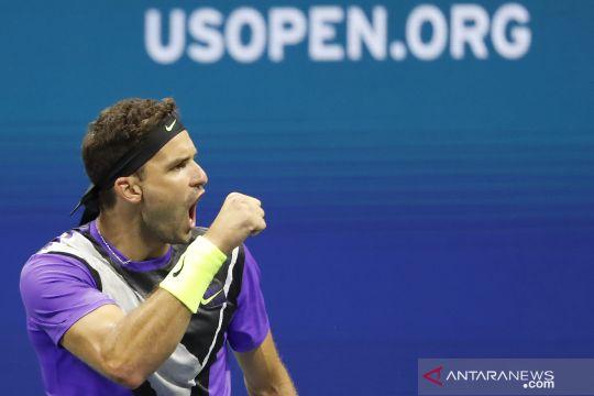 Tenis AS Terbuka: Dimitrov melaju ke semi final setelah kalahkan Federer
