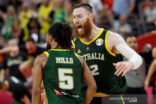 Australia, Prancis lengkapi delapan tim sempurna dalam putaran pertama
