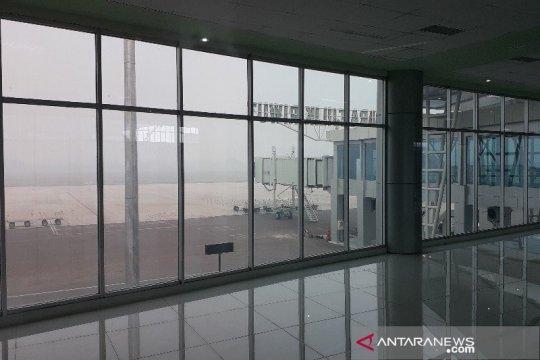 Kabut asap ganggu penerbangan di Kota Palangka Raya