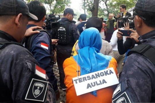 Polda Metro Jaya gelar rekonstruksi pembunuhan ayah dan anak