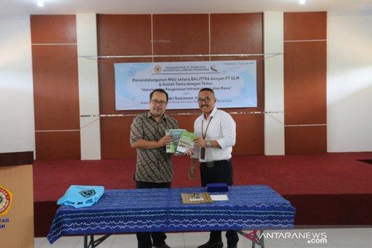 Balittra dan ULM sepakat kembangkan desain infrastruktur lahan rawa