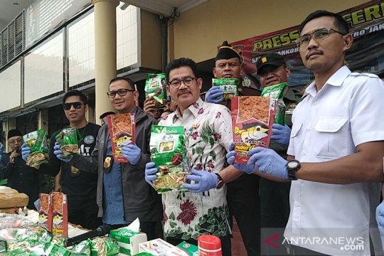16 kurir narkoba jaringan internasional pasok Jakarta ditangkap