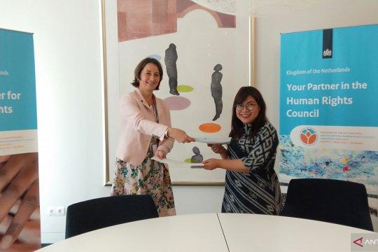 Belanda, AICHR Indonesia sepakati kerja sama perlindungan HAM