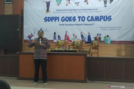Kemkominfo kenalkan pentingnya frekuensi di kalangan mahasiswa