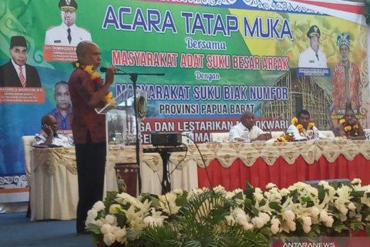 Suku Biak dukung proses hukum pelaku kericuhan Manokwari