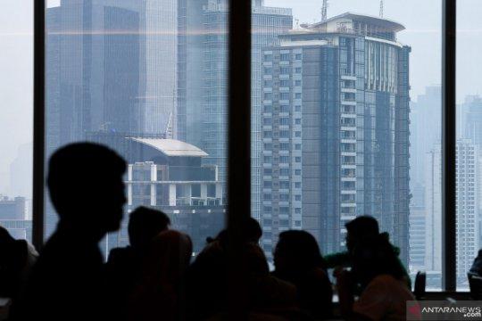 Senin pagi, Jakarta duduki tempat kelima kota terpolusi di dunia