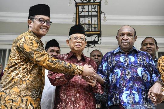 Maruf Amin terima perwakilan pendeta Papua