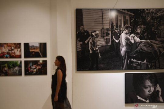 Foto-foto pemenang The World Press Photo dipamerkan di Jakarta