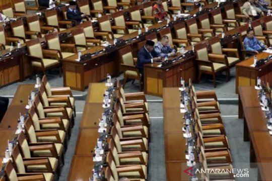 Pimpinan DPR bacakan surat Presiden terkait capim KPK