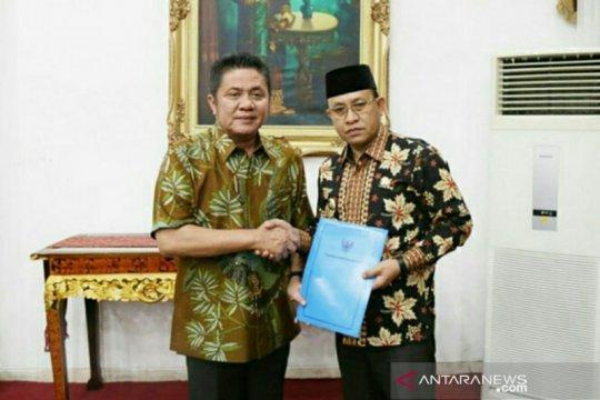 Gubernur Sumsel resmi angkat Wakil Bupati Muaraenim jadi Plh