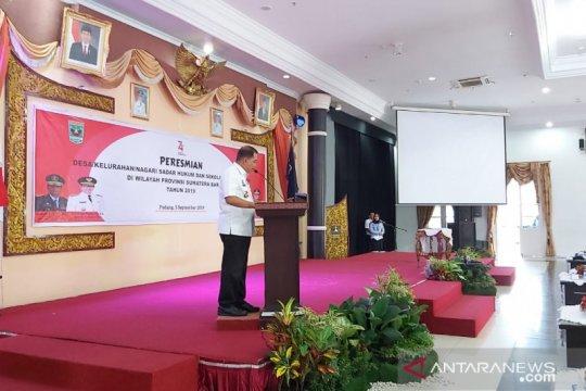 Kepala BPHN: Desa Sadar Hukum dorong pertumbuhan investasi di daerah