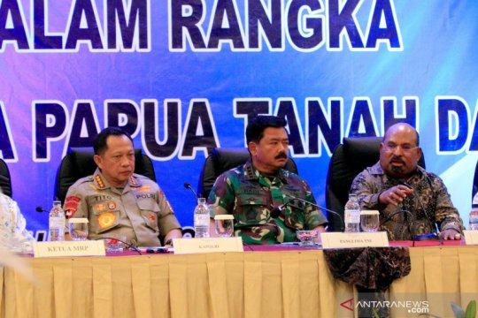 Panglima TNI dan Kapolri bertemu tokoh lintas agama di Jayapura