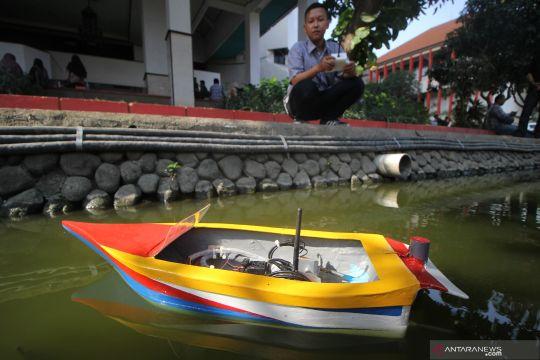 Inovasi kapal pendeteksi kedalaman sungai