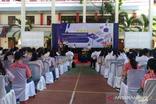 """Ratusan siswa SMA di Manado ikuti """"Perhubungan Mengajar"""""""
