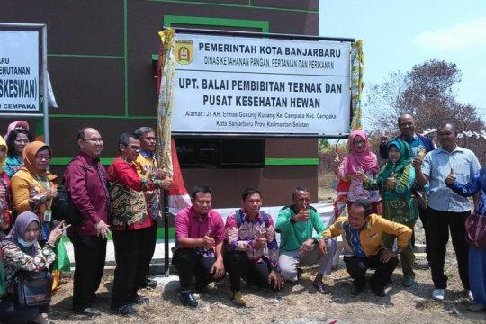 Pemerintah Kota Banjarbaru dorong peningkatan produksi ternak