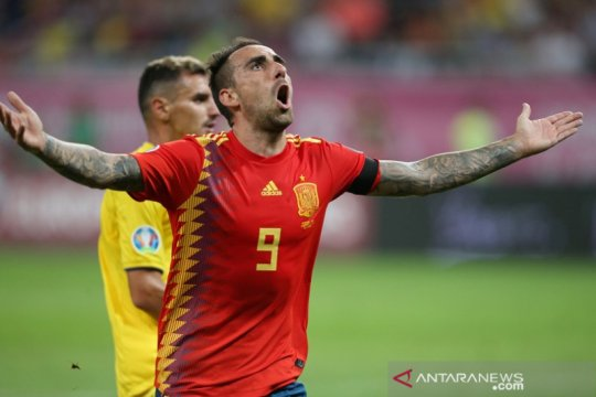 Spanyol pecundangi Rumania di Bucharest demi jaga catatan sempurna