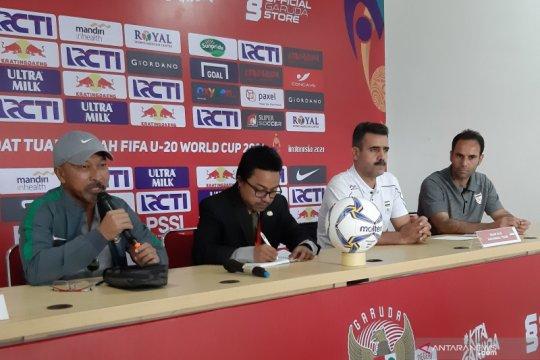 Fakhri Husaini turunkan pemain minim jam terbang kontra Iran