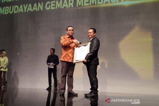 Antara Kalteng raih penghargaan dari Perpustakaan Nasional