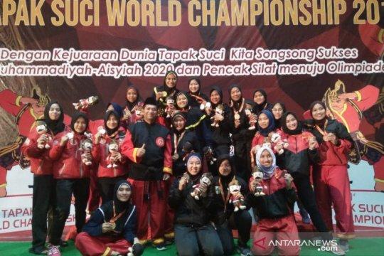Sulsel rebut 5 emas kejuaraan dunia tapak suci