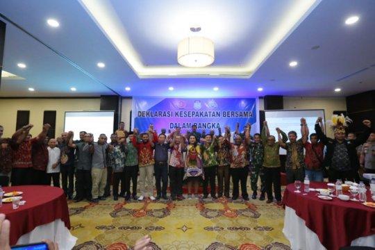Kapolri-Panglima TNI hadiri deklarasi jaga Papua damai