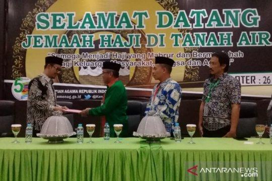 Jamaah haji Kloter 26 tiba di Makassar