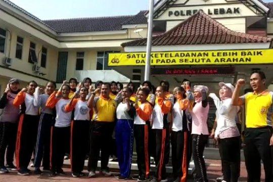 Siswa SMA 1 Rangkasbitung asal Papua gelar deklarasi Cinta Papua