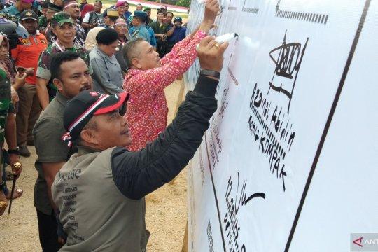 Pemerintah dan masyarakat Kota Sorong deklarasi damai