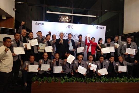 Indonesia miliki 20 pelatih lokal berlisensi AFC Pro