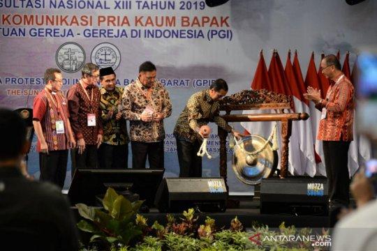 Presiden ajak masyarakat tebar kasih sayang dan toleransi
