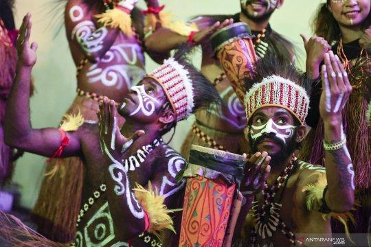 Pentas budaya sebagai bentuk solidaritas untuk Papua