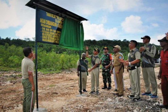 Papua Terkini - Korem 173/PVB Biak resmikan lapangan latihan prajurit