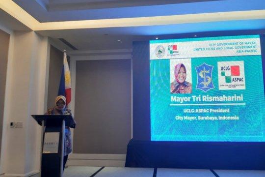 Wali Kota Surabaya paparkan manajemen risiko bencana di Filipina