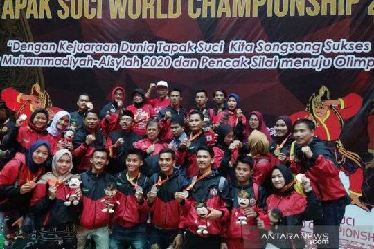 Atlet Musi Banyuasin raih emas Kejuaraan Dunia Tapak Suci 2019