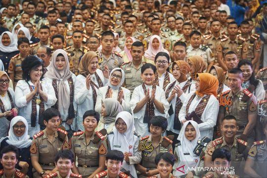 Ibu negara Iriana Jokowi kunjungi Akademi Angkatan Udara