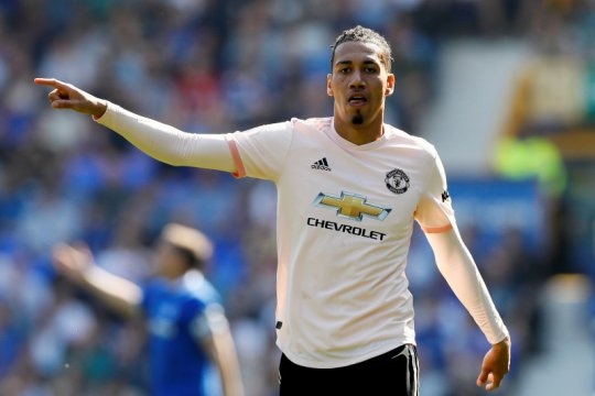 Chris Smalling betah bersama AS Roma