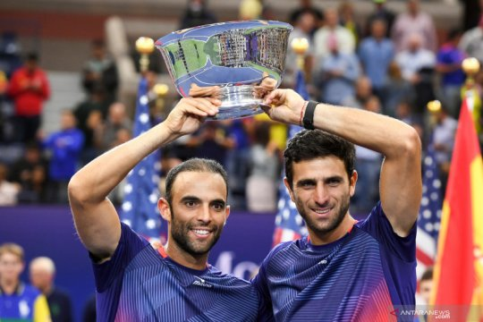 Cabal/Farah pimpin klasemen sementara Nitto ATP Finals