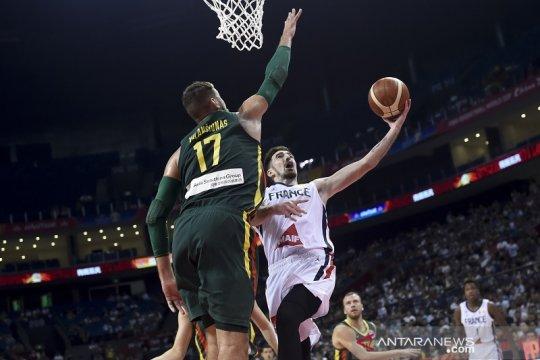 Prancis capai perempat final usai menangi laga ketat kontra Lithuania