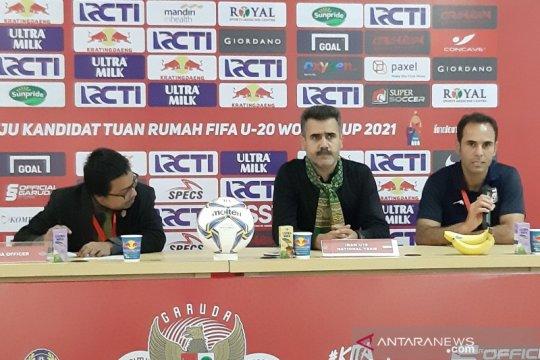 Pelatih Iran puji penampilan Beckham-Supriyadi