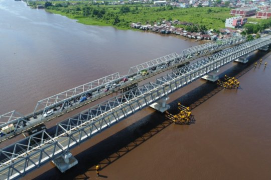 PUPR bangun duplikasi dua jembatan di Pontianak
