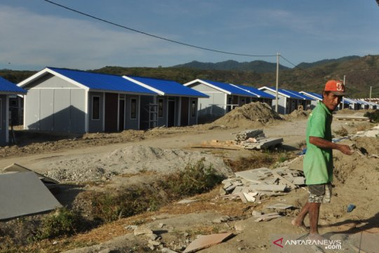 Listrik hunian tetap untuk korban bencana di Palu berdaya 900 Watt