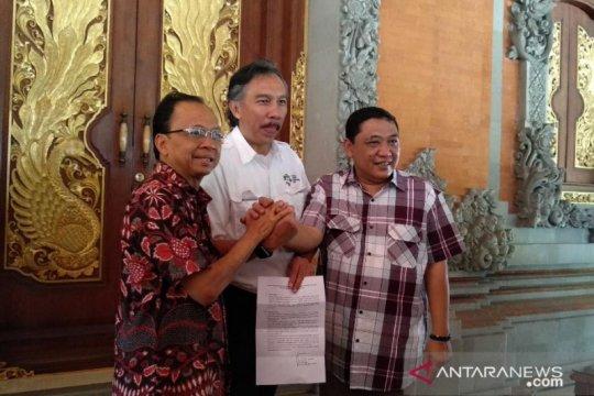 Gubernur Koster setuju kesepakatan pengembangan Pelabuhan Benoa