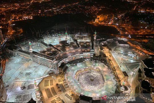 Masjidil Haram dari ketinggian 601 m