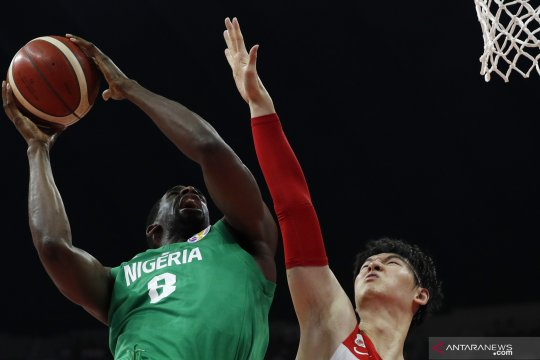 FIBA World Cup 2019: China melawan Nigeria
